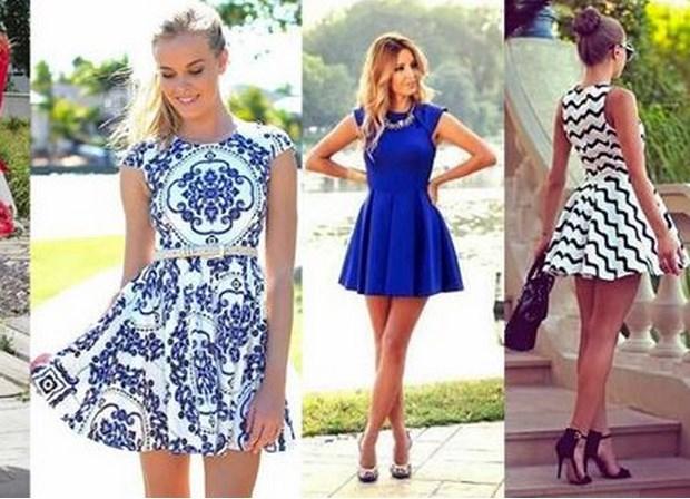 Модные фасоны платья